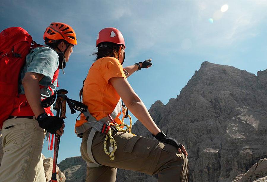 Klettersteigset Salewa : Test ergo zip klettersteigset von salewa bergsteigen