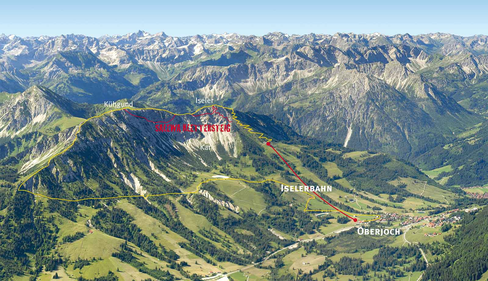 Klettersteigset Salewa : Bergfex salewa klettersteig wanderung tour bayern